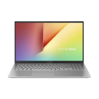 "Лаптоп Asus VivoBook15 X512DA-EJ121 (90NB0LZ2-M09780)(сребрист), четириядрен Zen 2 AMD Ryzen 5 2500U 2.0/3.6GHz, 15.6"" (39.62 cm) Full HD Anti-Glare Display, (HDMI), 8GB DDR4, 512GB SSD, 1x USB 3.1 Type C, Linux image"