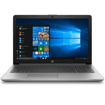 "Лаптоп HP 250 G7 (197S3EA)(сребрист), двуядрен Ice Lake Intel Core i3-1005G1 1.2/3.4 GHz, 15.6"" (39.6 cm) Full HD SVA eDP Anti-Glare Display, (HDMI), 8GB DDR4, 256GB SSD, 2x USB 3.1, Free DOS image"