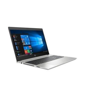 "Лаптоп HP ProBook 450 G7 (2D296EA)(сребрист), четириядрен Comet Lake Intel Core i5-10210U 1.6/4.2 GHz, 15.6"" (39.62 cm) Full HD Anti-Glare Display & GF MX130 2GB,(HDMI), 16GB DDR4, 256GB SSD & 1TB HDD, 1x USB 3.1 Type-C, Free DOS  image"