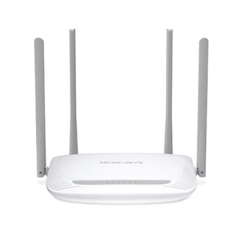 Рутер Mercusys MW325R, 300Mbps, 2.4GHz(300Mbps), Wireless N, 3x 10/100Mbps, 4x външни 5dBi антени image