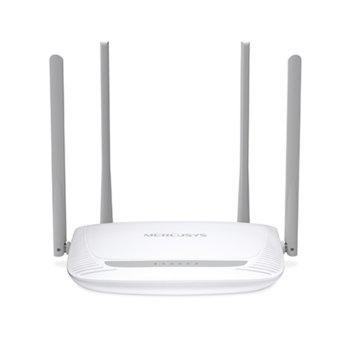 Рутер Mercusys MW325R, 300Mbps, 2.4GHz(300Mbps), Wireless N, 3x 10/100Mbps, 4x външни 5dBi антени image
