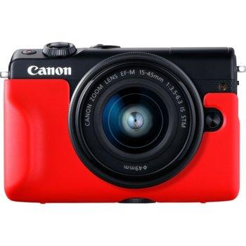 Протектор/калъф Canon EH31-FJ Face Jacket, за фотоапарат Canon EOS M100, червен image