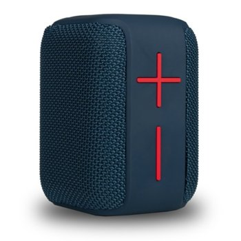 Тонколона NGS Roller Coaster blue, 1.0, 10W, Bluetooth, AUX, синя, до 8ч. време на работа, слот за SD карта, IPX6 водоустойчива image