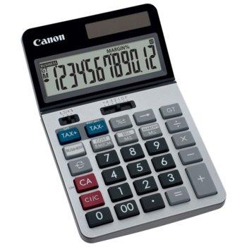 Калкулатор Canon KS-1220TSG, LCD дисплей, 12 цифрен, сив image