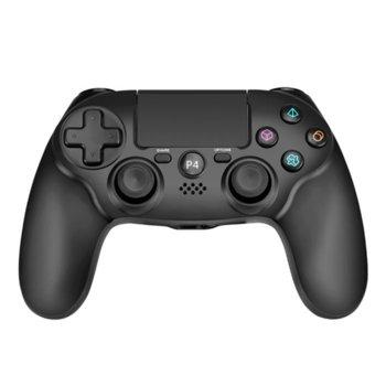 Геймпад Marvo GT-64, безжичен, за PC/PS4, Bluetooth, USB, черен image