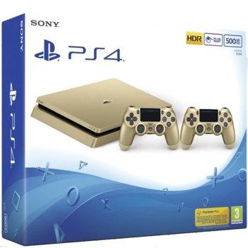PS4 Slim 500GB Gold Dualshock 4  product