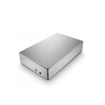 """Твърд диск 8TB Lacie Porsche Design STFE8000200, външен, 3.5"""" (8.89 cm), USB Type C, сребрист image"""