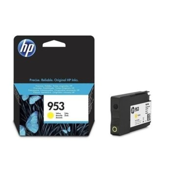 КАСЕТА ЗА HP Officejet Pro 8210/8710/8715/8720/8725/8730/8740 - Yellow - 953 - P№ F6U14AE - заб.: 700k image