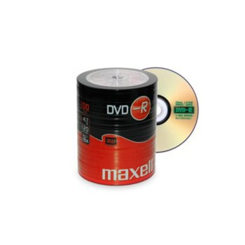 Оптичен носител DVD-R media 4.7Gb, Maxell, 100 бр. image