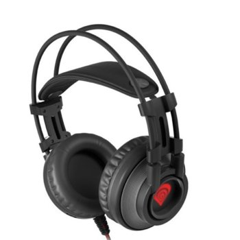 Слушалки Natec Genesis Radon 600 Virtual 7.1, микрофон, геймърски, черни  image