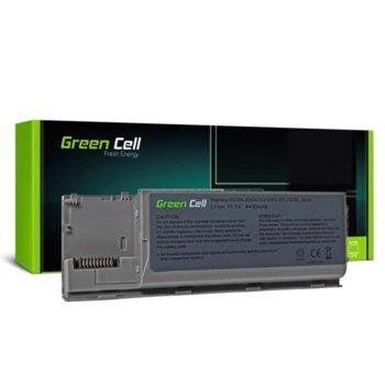 Батерия (заместител) за лаптоп Dell, Latitude D620/630, 6-cell, 11.1V, 4400mAh image