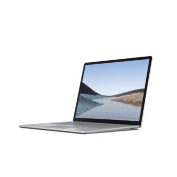 "Лаптоп Microsoft Surface Laptop 3 (VGZ-00008)(сребрист), четириядрен AMD Ryzen 5 3580U 2.1/3.7GHz, 13.5"" (34.29 cm) WQXGA Touchscreen PixelSense Display, (USB-C), 8GB DDR4, 256GB SSD, 1x USB-A, Windows 10 Home image"