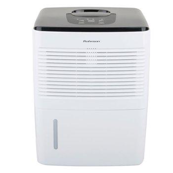 Обезвлажнител за въздух Rohnson R 9810, 2 л вместимост на резервоара, филтър, за помещения до 45кв.м., 10 л./24 часа капацитет на изсушаване, бял image