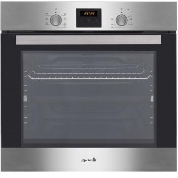 Фурна за вграждане Arielli AOE-960T3, 60 л. обем, 2 нива на готвене, 10 функции, Push бутони, сива image