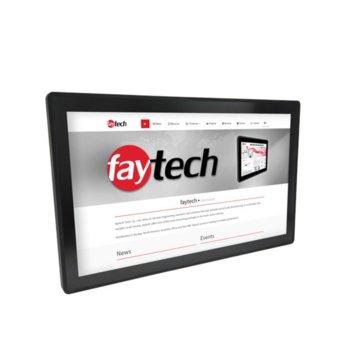 """Индустриален компютър Faytech FT27V40CAPOB 1010501702, четириядрен Allwinner V40 1.5 GHz, 27"""" (68.58 cm) Full HD Anti-Glare Touchscreen Display, 1GB, 8GB Flash памет, 2x USB 2.0, Android 6.0 image"""