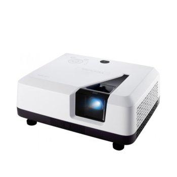 Проектор ViewSonic LS700-4K, DLP, 3840x2160 (4K UHD), 3000000: 1, 3300 lm, HDMI, VGA, USB, Audio Jack image