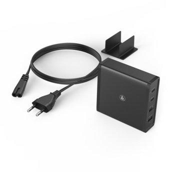 Захранване (заместител) за лаптопи HAMA, 2x USB-C, 2x USB-A, вх. 100-240 V, изх. 5-20 V, 65W image