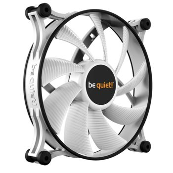 Вентилатор 140 mm, Be Quiet Shadow Wings 2, 3-Pin, 900 rpm, бял image