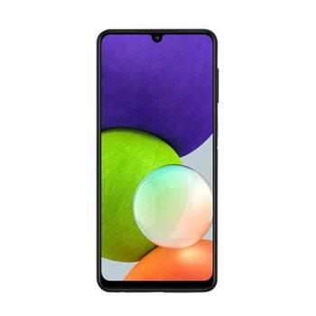 """Смартфон Samsung SM-A225F GALAXY A22 (черен), поддържа 2 sim карти, 6.4"""" (16.26 cm) HD+ Super AMOLED дисплей, осемядрен Mediatek Helio G80 2.0 GHz, 4GB RAM, 128GB Flash памет (+ microSD слот), 48.0 + 8.0 + 2.0 + 2.0 & 13.0 Mpix камера, Android image"""