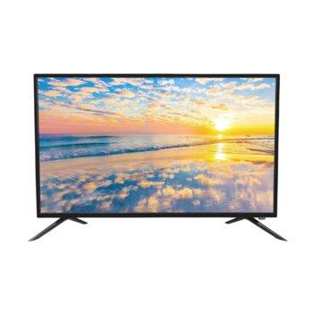 "Телевизор Crown 3277T2, 32"" (81.28. cm) HD, DVB-T/T2/C/MPEG4, HDMI, USB, VGA image"