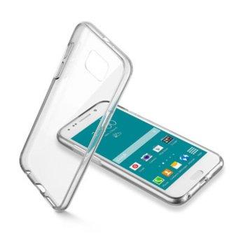 Калъф за Samsung Galaxy S6, силикон, Cellular Line Clear Duo, прозрачен image