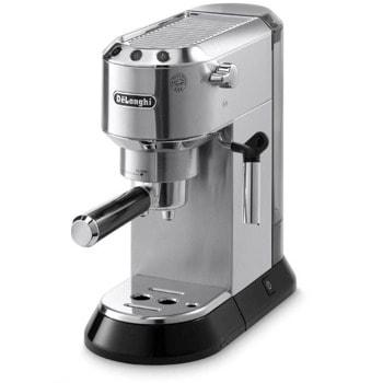 Ръчна еспресо кафемашина Delonghi DEDICA EC685M, 1300W, 15 bar, 1.1л. резервоар, инокс image