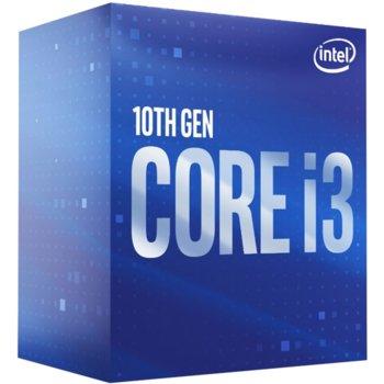 Процесор Intel Core i3-10105F, четириядрен (3.7/4.4 GHz, 6MB, LGA1200) Box, с охлаждане image