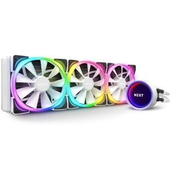 Водно охлаждане за процесор NZXT Kraken X73 RGB (RL-KRX73-RW), съвместимост със сокети Intel 1200/115X/1366/2011/2011-3/2066 & AMD AM4 image