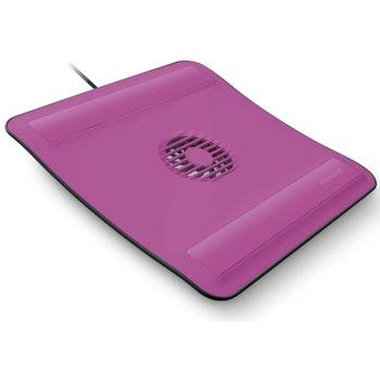 Охлаждаща поставка за лаптоп, Microsoft Notebook Cooling Base, розова image