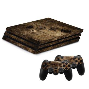 Стикери Wood за SONY PlayStation 4 PRO image