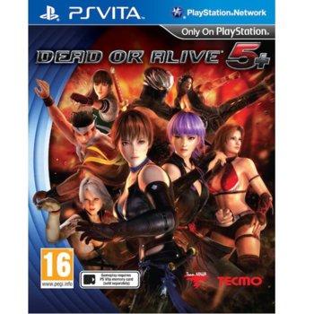Dead or Alive 5 Plus PS Vita product