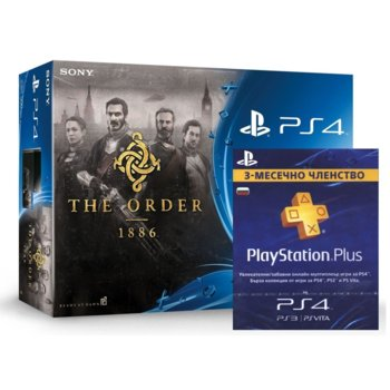 Sony PS4 500GB The Order: 1886 90 PS+ product