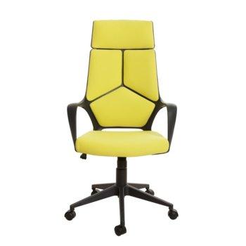 Директорски стол Force Black, дамаска, лимон image