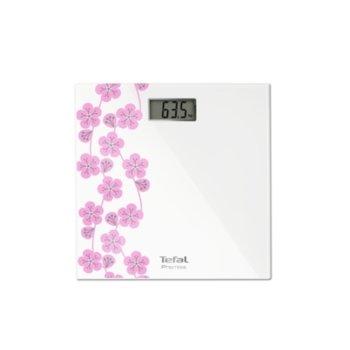 Цифров кантар Tefal PP1078V0, капацитет до 150 кг., автоматично вкл/изкл., бял image