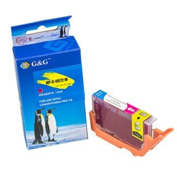 ГЛАВА ЗА CANON PIXMA PRO-10 - Magenta - PGI-72M - 6405B001 - P№ NP-C-0072M/C(PG) - G&G - Неоригинален Заб.: 13ml. image