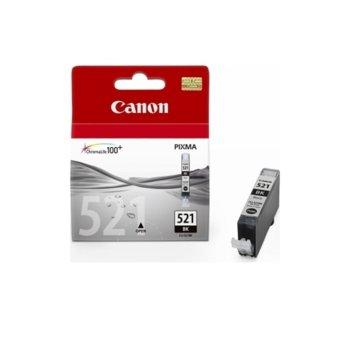 Мастило за Canon PIXMA iP4600/MP630 - CLI-521BK - Black - 9ml image