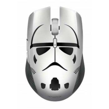 Мишка Razer Atheris - Stormtrooper Edition, оптична (7.200 dpi), безжична, Bluetooth, Wireless 2.4GHz, бяла image