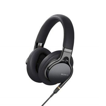 Слушалки Sony MDR-1AM2, микрофон, 1.2m кабел, черни image