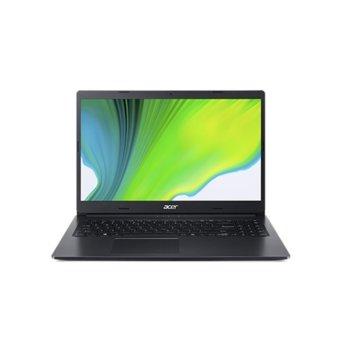 "Лаптоп Acer Aspire 3 A315-57G-37RS (NX.HZREX.00J), двуядрен Ice Lake Intel Core i3-1005G1 1.2/3.4 GHz, 15.6"" (39.62 cm) Full HD Anti-Glare Display & GF MX330 2GB, (HDMI), 8GB DDR4, 512GB SSD, 2x USB 3.2, Linux image"