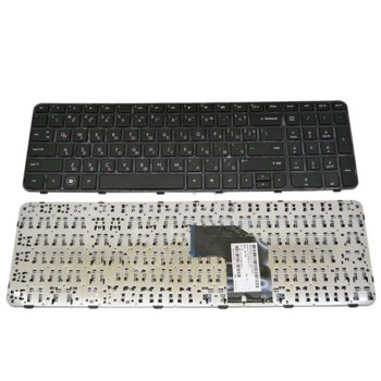 Клавиатура за лаптоп HP, съвместима със серия Pavilion G6-2000, чера рамка, с Кирилица image