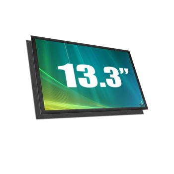 "Матрица за лапроп Asus U36JC CLAA133WB01A, 13.3"" (33.78 cm), WXGAP+, 1366:768 pix, гланц image"