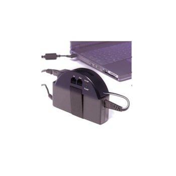 Протектор CyberPower CPS500NBP, защита от токови удари, 500 джаула, RJ45 & RJ11 image