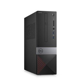 Настолен компютър Dell Vostro 3471 SFF (N214VD3471EMEA01_R2005_22NM), шестядрен Coffee Lake Intel Core i5-9400 2.9/4.1 GHz, 4GB DDR4, 1TB HDD, 2x USB 3.1, клавиатура и мишка, Windows 10 Pro image