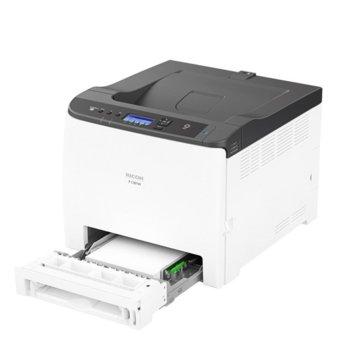 Лазерен принтер Ricoh C301W, цветен, 2400 x 600 dpi, 25 стр/мин, Wi-Fi, LAN, USB, A4 image