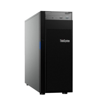 Сървър Lenovo ThinkSystem ST250 (7Y45A02BEA), четириядрен Coffee Lake Intel Xeon E-2124G 3.4/4.5 GHz, 16GB DDR4, без HDD, 2x 1GbE LOM, 2x USB 3.1, без ОС, 1x 550W PSU image