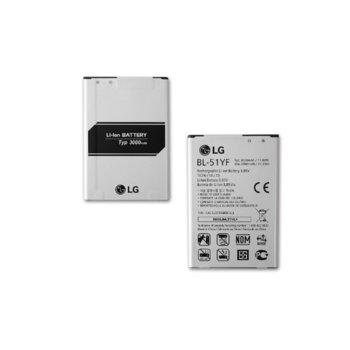 Батерия (заместител) LG H815 за LG G4, 3000mAh/3.85V image