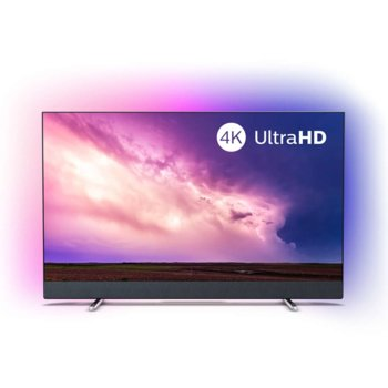 "Телевизор Philips 50PUS8804/12, 50"" (127 cm) LED Smart TV, 4K/UHD, DVB-T/T2/T2-HD/C/S/S2, Wi-Fi, LAN, Bluetooth, 4x HDMI, 2x USB, Ambilight, Android, Bowers & Wilkins звук image"