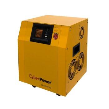 Инвертор CyberPower CPS7500PRO, 7500VA/5250W, 140VAC-300VAC, подвижен image