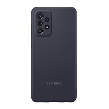 Калъф за Samsung Galaxy A52, силиконов, Samsung Silicone Cover EF-PA525TBEGWW, черен image