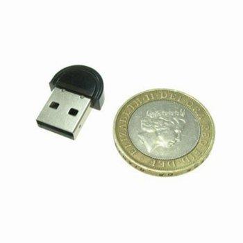 Адаптер DF 10001, Bluetooth V2.0, обхват до 10м, черен image